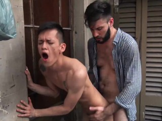 Reality Dudes - Asian Twink Andres Has Empress Aggravation Ridden Wits Diego Beamy Cock